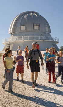 The Observatoire Astronomique du Mont-M�gantic