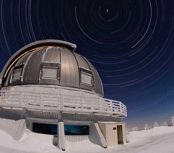 observatoire du mont megantic